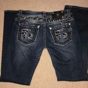 Womens miss me jeans. 29x31